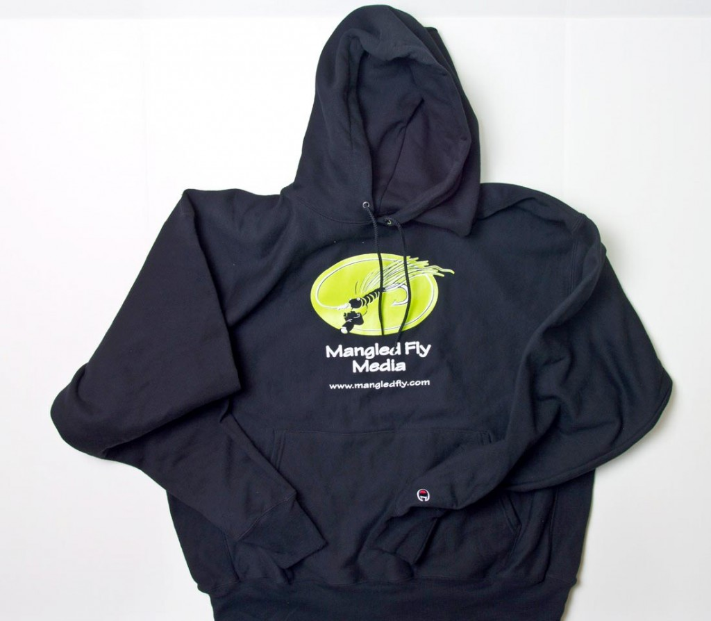 Mangled fly hoodie mangled fly fly fishing images for Fly fishing hoodie