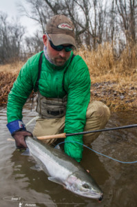 Jon Ray, fly fishing