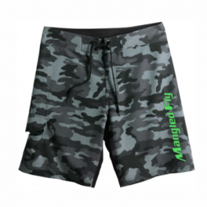 Black Camo Board Shorts