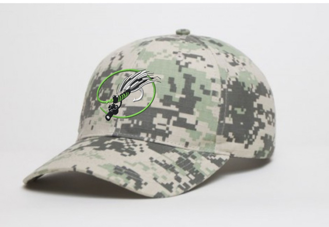 New Mangled Fly Camo Hat