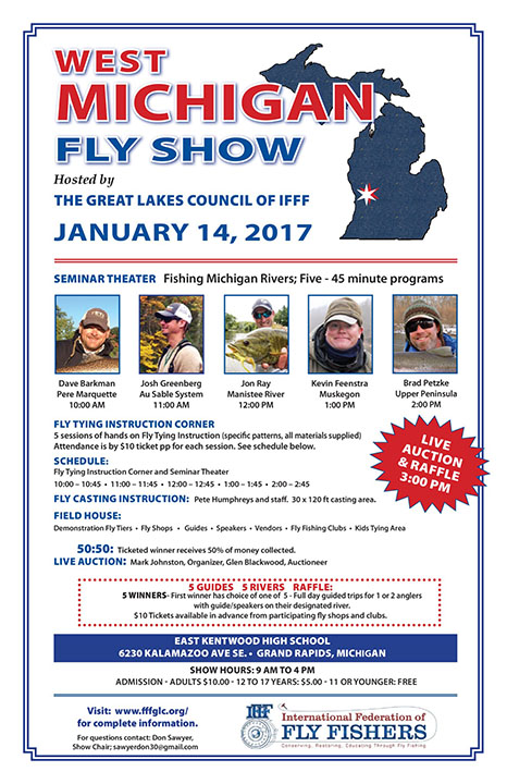Michigan fly show