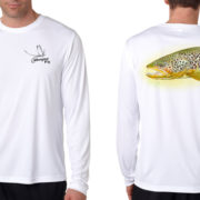 Brown Trout Sun Shirt