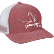Red Mangled Fly Hat