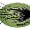 Mangled Fly Sticker