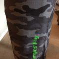 Black Camo Board Shorts