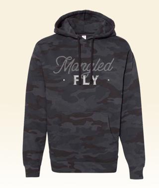 Mangled Fly Camo Hoodie