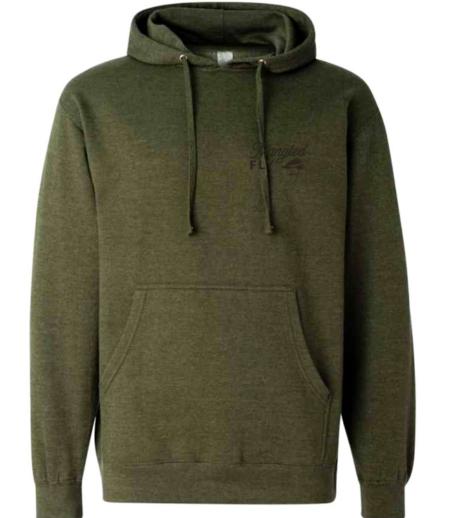 heather green sweatshirt