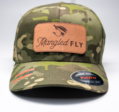 Mangled Fly Camo Flexfit