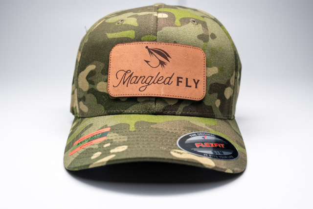 Mangled Fly Camo Flexfit